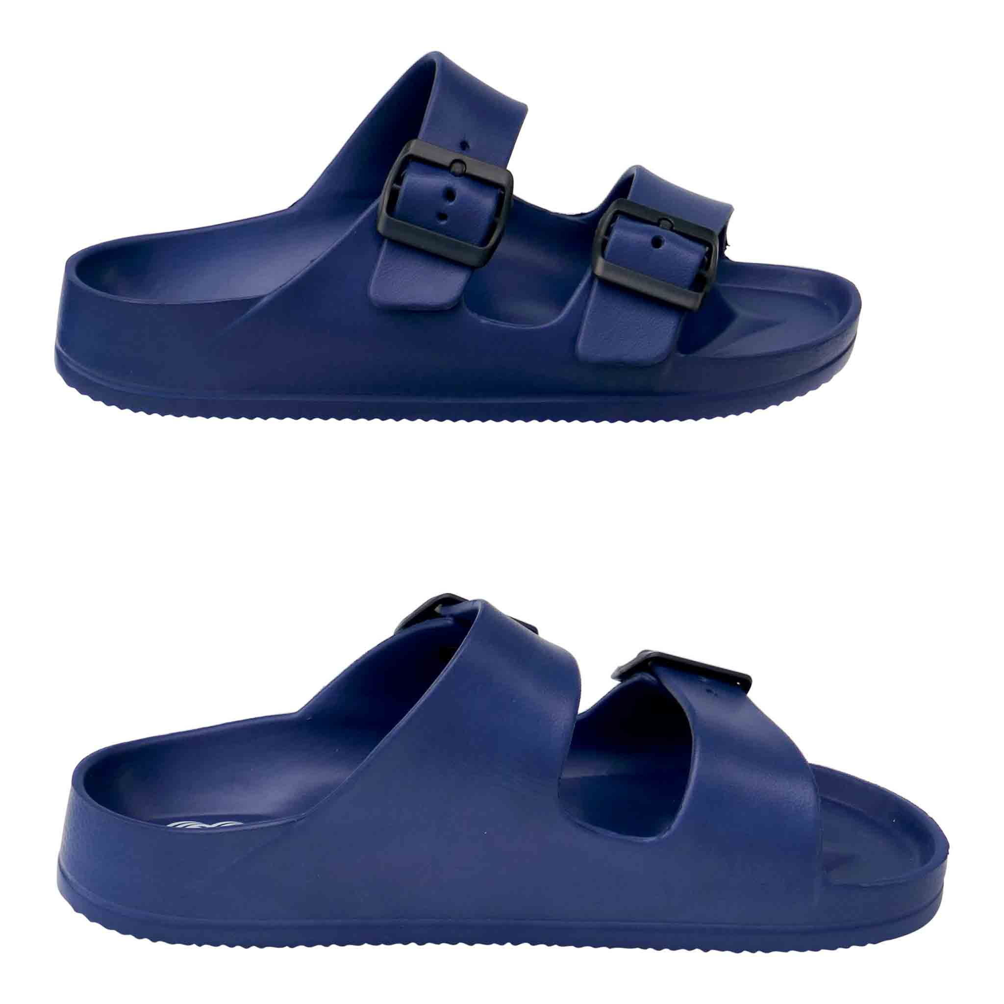 LADIES' ORTHOTIC BEACH SANDAL WITH ARCH SUPPORT (NAVY BLUE)